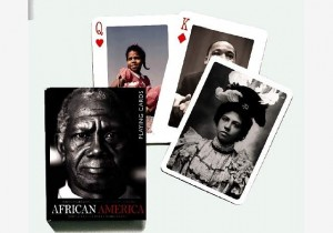 african america playing cards